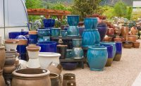 Pottery in Eagle Crest Nursery