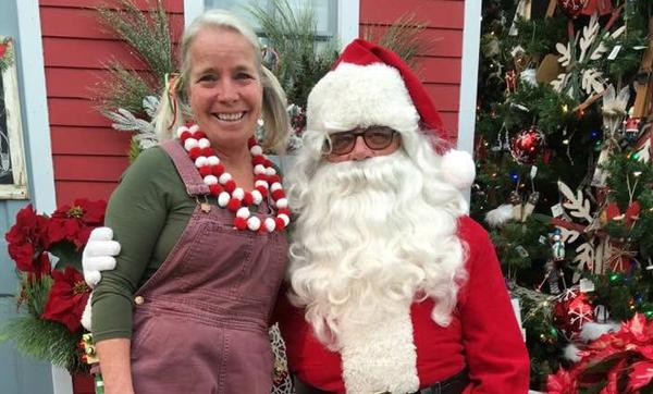 Santa at Eagle Crest Nursery